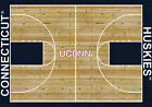 UCONN Huskies Milliken Basketball Home Court Novelty Area Rug