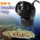 110~240v Jebao RW8 Programmable Wavemaker Propeller Pump Fish Tank+Controller #a