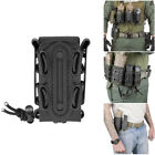 Military Tactical OC Spray Rifle Pistol Magazine Pouch Holster Molle Utility L/S
