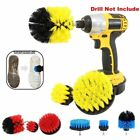 3X Tile Grout Cleaner Bathtub Carpet Toilet Brush Drill Attachment Cleaning Tool