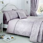 Serene JASMINE Lavender Purple Jacquard Bedroom & Curtains Collection
