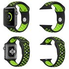Replacement Silicone Sport Band Strap for Nike+ Apple Watch Series 4 3 40mm 44mmWristwatch Bands - 98624