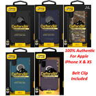 New OEM Otterbox Defender Series Case for the Iphone X & XS With Belt Clip