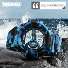 Camouflage Military Men Watch Sport Army watch waterproof outdoor events