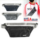 Fanny Pack Mens Womens Running Belt Hip Waist Pouch Bag Camping Hiking Zip Bags