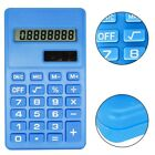Handheld Calculator 8 Digits LCD Display Silicone Button Battery Operated