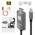 Type-C USB-C to HDMI Adapter Cable 4K UHD USB 3.1 For MacBook Galaxy S8 S9 Plus