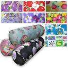 Bolster Cover*Modern Cotton Canvas Neck Roll Tube Yoga Massage Pillow Case*AL1