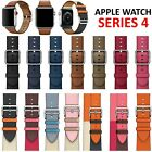 Replacement Leather Classic Buckle Band for Apple Watch Series 4 3 2 1 40mm/44mm