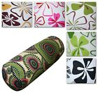 Bolster Cover*Cotton Canvas Plant Neck Roll Tube Yoga Massage Pillow Case*AF5