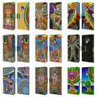 OFFICIAL CHRIS DYER SPIRITUAL LEATHER BOOK WALLET CASE FOR SAMSUNG PHONES 1