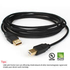 [1-10 LOT ]10FT High Quality 24AWG USB 2.0 Printer Cable for Printers / Scanners