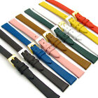 Extra-Long XL Fine Calf Women's Watch Band 12mm 14mm Lots of Colors