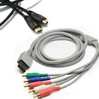 1080P Component Game Cable for Wii HDTV Audio Video AV 5 RCA Game Adapter Video