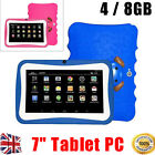 "7"" Inch Kids Android 4.4 Tablet Pc Quad Core Wifi Camera For Child Children"