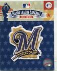 "Milwaukee Brewers Official Baseball Collectors PATCH Logo Jersey 3""x3"" on Ebay"