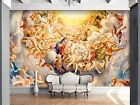 3D Many People Heaven 3 Wallpaper Mural Print Wall Indoor Wallpaper Murals UK