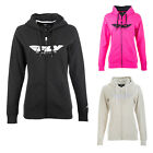 Fly Racing Women's Corporate Zip Up Hoodie Sweatshirt