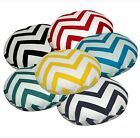 Flat Round Shape Cover*A-Grade Cotton Canvas Floor Seat Chair Cushion Case*Le