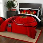 NHL CHICAGO BLACKHAWKS COMFORTER SET - Hockey Puck Comforter Sham Bedding $79.99 USD on eBay