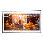 """Mini Portable 60""""/84""""/150"""" Projector Screen Foldable HD 3D Home Theater Movies"""