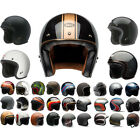 Bell Custom 500 3/4 Open Face DOT Motorcycle Street Cruiser Helmets BRAND NEW