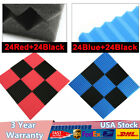 Red/Blue+Black Acoustic Foam Panel for sound recording studio KTV home theater