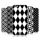 HEAD CASE DESIGNS BLACK AND WHITE PATTERNS SOFT GEL CASE FOR OPPO PHONES