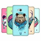 HEAD CASE DESIGNS FAUNA HIPSTERS SOFT GEL CASE FOR MICROSOFT PHONES
