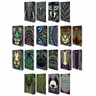 HEAD CASE AZTEC ANIMAL FACES LEATHER BOOK CASE FOR SAMSUNG GALAXY TABLETS