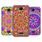 HEAD CASE DESIGNS MANDALA FLOWERS HARD BACK CASE FOR HUAWEI PHONES 2
