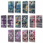 HEAD CASE DESIGNS NEBULA TRIBAL PATTERNS LEATHER BOOK CASE FOR LG PHONES 2