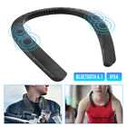 Portable Wireless Stereo Wearable Neck Bluetooth 4.1 Speaker Sports Music Player