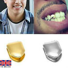 1pcs Gold/silver Plated Small Single Tooth Cap Hip  Teeth Grill Jewellery Uk