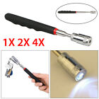Magnetic Pickup Tool LED Light Telescoping Handle Pick up Magnet Retractable NEW