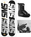 """NEW SIMS """"CHAOS"""" SNOWBOARD, BINDINGS, BOOTS PACKAGE - 156cm"""