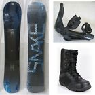 """NEW """"SNAKE"""" SNOWBOARD, BINDINGS, BOOTS PACKAGE - 148cm, 151cm"""