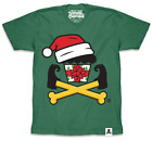 EXCLUSIVE/SPECIAL Johnny Cupcakes (Men's) T-Shirt: Holiday Mash-Up Crossbones