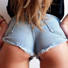 Sexy Women Lady Mini Hot Pants Shorts Denim Low Waist Club Party Jeans Plus Size
