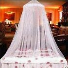 Round Mosquito Net Bed Canopy Lace Sheer Netting King Size Fly Insect Protector image