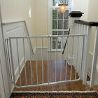 """Stairway Special Pet Gate Safety Fence 29.5"""" High 27"""" to 42.5"""" W Adjustable"""