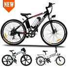 2type Folding EBike Electric Mountain Bicycle 36V Lithium Poweded 21 Speed Best
