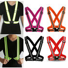 Kyпить Adjustable Reflective Vest High Visibility Safety Straps Cycling Walking Running на еВаy.соm