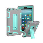 Shockproof Armor Rugged Case Cover For Amazon Kindle Fire HD 8 2018 8th 7th Gen