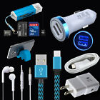 7 Car Wall Charger Cable Headset Card Reader For Samsung S7 Edge S8 S9+Note 9 8