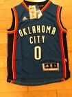 Russell Westbrook Oklahoma City Thunder Swingman Jerseys White Blue Stitched NEW on eBay
