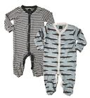 Ex NXT Baby Boys Babygrow Sleepsuits 2 or 3 Pack Multipack 100% Cotton Babygrows