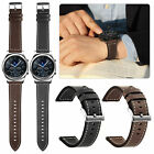For Samsung Gear S3 Classic / Frontier Watch Genuine Leather Wrist Band Strap