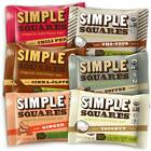 Simple Squares Paleo Protein Bars Organic Non GMO No Dairy Low Carb Gluten ...