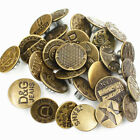 50 Sets No Sew Mixed Style Replacement Metal Studs Jean Pants Buttons 20mm
